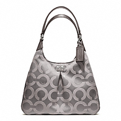 COACH MADISON OP ART SATEEN MAGGIE - ONE COLOR - F21125