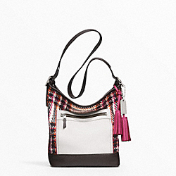 COLORBLOCK PLAID DUFFLE - f21146 - 11913