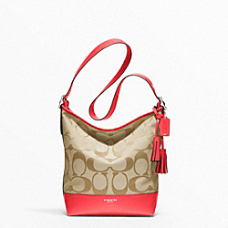 COACH SIGNATURE DUFFLE - ONE COLOR - F21149