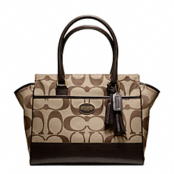 COACH SIGNATURE MEDIUM CANDACE CARRYALL - ONE COLOR - F21151