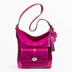COACH HAIRCALF POCKET LARGE DUFFLE - ONE COLOR - F21158