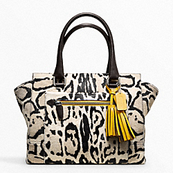 COACH OCELOT HAIRCALF CANDACE MEDIUM CARRYALL - ONE COLOR - F21166