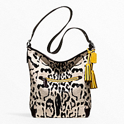 OCELOT HAIRCALF LARGE DUFFLE COACH F21167