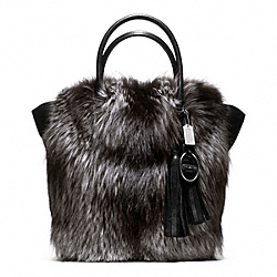 COACH FUR TANNER TOTE - ONE COLOR - F21169