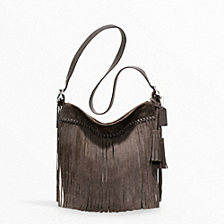 COACH FRINGE DUFFLE - ONE COLOR - F21183