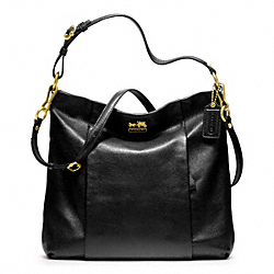 COACH MADISON LEATHER ISABELLE - BRASS/BLACK - F21224