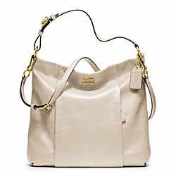 COACH MADISON LEATHER ISABELLE - BRASS/PARCHMENT - F21224