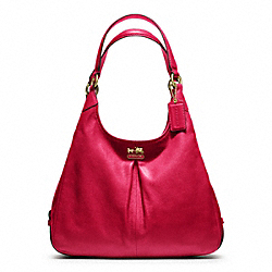 COACH MADISON LEATHER MAGGIE - ONE COLOR - F21225