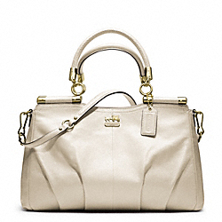 COACH MADISON LEATHER CARRIE - ONE COLOR - F21227