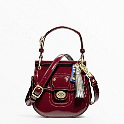 COACH PATENT MINI NEW WILLIS - ONE COLOR - F21246