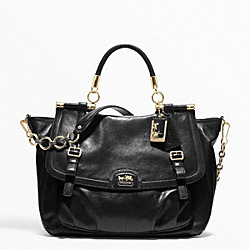 COACH MADISON PINNACLE LEATHER ABBY - ONE COLOR - F21277