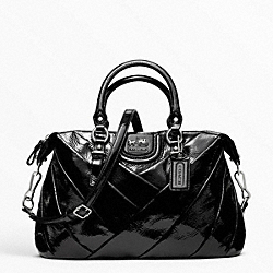COACH MADISON DIAGONAL PLEATED PATENT JULIETTE - ONE COLOR - F21304
