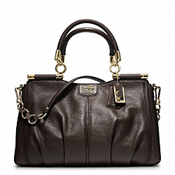 COACH MADISON PINNACLE TEXTURED LEATHER CARRIE - ONE COLOR - F21503