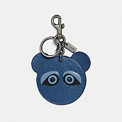 COACH ACE FACE BAG CHARM - BKECK - F21539
