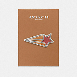 SHOOTING STAR PIN - f21665 - MULTICOLOR