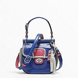 COACH LEATHER COLORBLOCK MINI NEW WILLIS - ONE COLOR - F21741