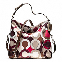 COACH MADISON ISABELLE IN OP ART METALLIC FABRIC - ONE COLOR - F21781