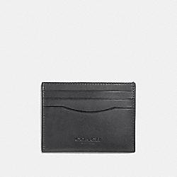 CARD CASE - GRAPHITE - COACH F21795