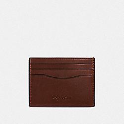CARD CASE - MAHOGANY - COACH F21795