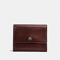 COIN CASE - MAHOGANY - COACH F21797