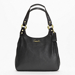 COACH ASHLEY LEATHER HOBO - ONE COLOR - F21926