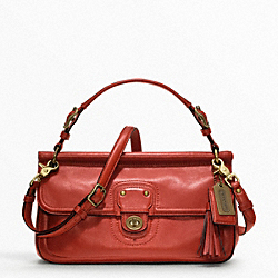 COACH LEATHER CITY WILLIS - ONE COLOR - F22062
