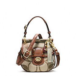 COACH SIGNATURE MINI NEW WILLIS - ONE COLOR - F22063