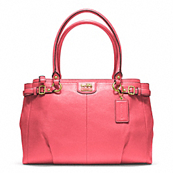 COACH MADISON LEATHER KARA CARRYALL - ONE COLOR - F22262