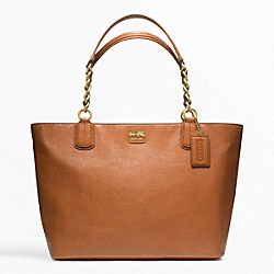 MADISON LEATHER LARGE TOTE - f22263 - 24935