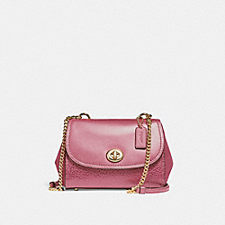 COACH F22349 - FAYE CROSSBODY LIGHT GOLD/ROUGE