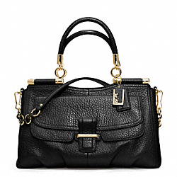 COACH MADISON PINNACLE PEBBLED LEATHER CARRIE - ONE COLOR - F22367