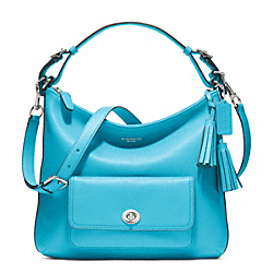 COACH LEATHER COURTENAY HOBO - ONE COLOR - F22381
