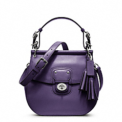 COACH LEATHER WILLIS - SILVER/MARINE - F22382