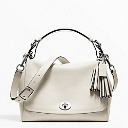 COACH LEATHER ROMY TOP HANDLE - ONE COLOR - F22383