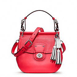 COACH PERFORATED LEATHER WILLIS - ONE COLOR - F22384