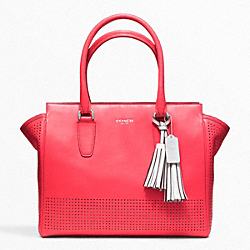 PERFORATED LEATHER MEDIUM CANDACE CARRYALL - f22390 - 13673