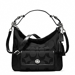 COACH SIGNATURE COURTENAY HOBO - ONE COLOR - F22392