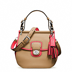 COACH ARCHIVAL TWO TONE LEATHER WILLIS - ONE COLOR - F22409
