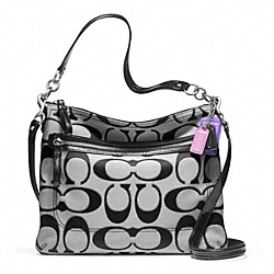 COACH POPPY SIGNATURE METALLIC OUTLINE PERRI HIPPIE - ONE COLOR - F22456
