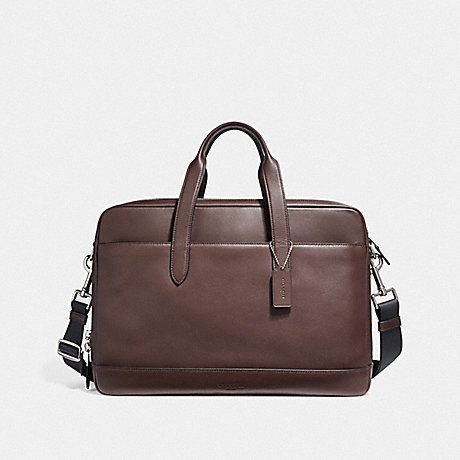 COACH HAMILTON COMMUTER - NICKEL/MAHOGANY/BLACK - f22528