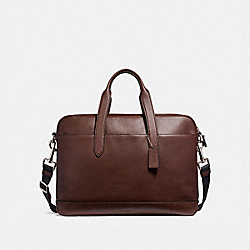 COACH HAMILTON BAG - NICKEL/MAHOGANY/BLACK - F22529