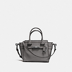 COACH SWAGGER 21 - HEATHER GREY/DARK GUNMETAL - COACH F22719