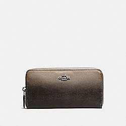 COACH ACCORDION WALLET - SILVER/FOG - F22808