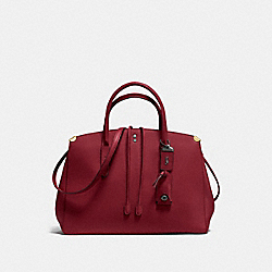 COOPER CARRYALL - BORDEAUX/BLACK COPPER - COACH F22821