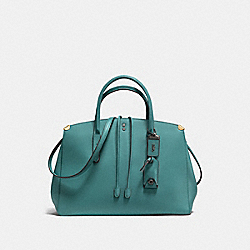 COOPER CARRYALL - MARINE/BLACK COPPER - COACH F22821