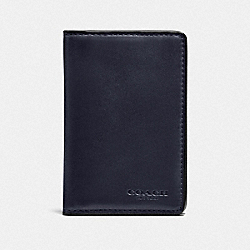 CARD WALLET - MIDNIGHT - COACH F22840