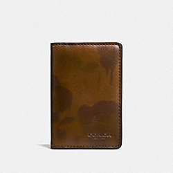 CARD WALLET WITH WILD BEAST PRINT - SURPLUS - COACH F22844