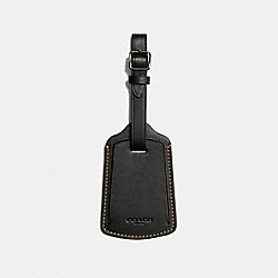 LUGGAGE TAG - BLACK - COACH F22876
