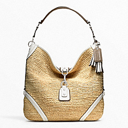 COACH STRAW DOGLEASH HOBO - ONE COLOR - F22906