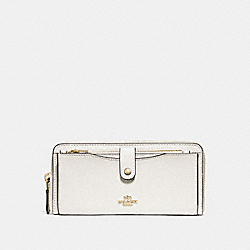 COACH MULTIFUNCTION WALLET - CHALK/light gold - F22997